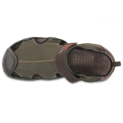Crocs Swiftwater Mesh Deck Mens(Espresso)