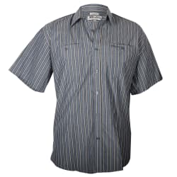 Sterling Mns Short Sleeve Striped Shirt