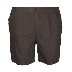 Sterling Men's Cargo Canvas 14cm Side Elasticated Short
