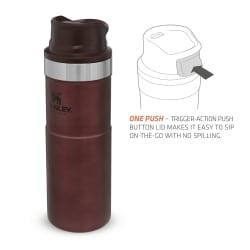 Stanley Classic Trigger Action Mug 470ml Wine