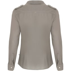 African Nature Women's Safari Cotton Voile Long sleeve Shirt