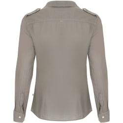 African Nature Women's Safari Cotton Voile Long sleeve Shirt