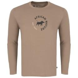 African Nature Men's Warthog Long sleeve Tee