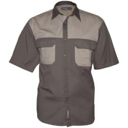 Sterling Men's 2 Tone Twill SS Shirt