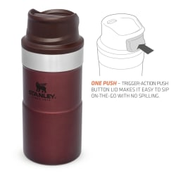 Stanley Classic Trigger Action Mug 250ml Wine