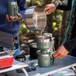 Stanley Classic Camp Mug 350ml Hammertone Green