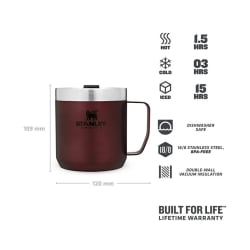 Stanley Classic Camp Mug 350ml Wine