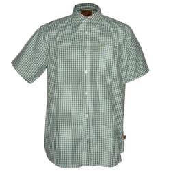 Kakiebos Men's Check Short Sleeve Shirt
