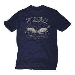 Wildebees Men's Charging Wildebees Tee