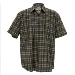 Sterling Men's Check Short sleeve Shirt