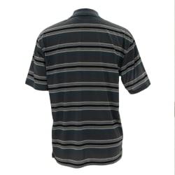 Sterling Men's Striped Short sleeve Golfer