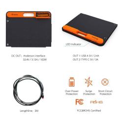 Jackery 100W Portable Solar Panel