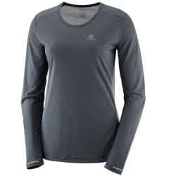 S Salomon Women's Agile LS Tee