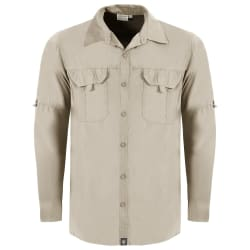 Men's Tech Shirt Long Sleeve With Back Vent Mini Rip