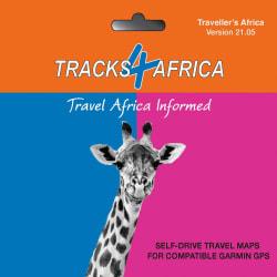 Tracks4Africa GPS Map 21.05