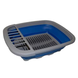 NATURAL INSTINCTS COLLAPSIBLE DISH DRYING RACK