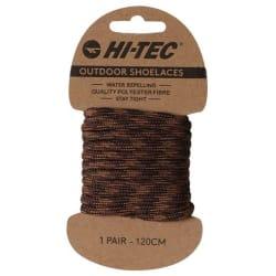 Hi Tec Outdoor Laces 120cm Single Pack
