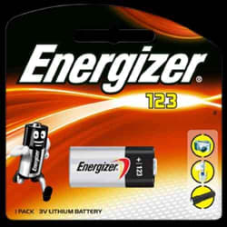 Energizer Photo Lithium 3v 123 Card 1