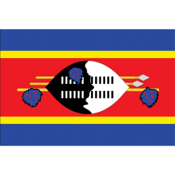 Swaziland Flag Sticker