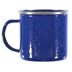 Natural Instincts Blue Enamel Mug