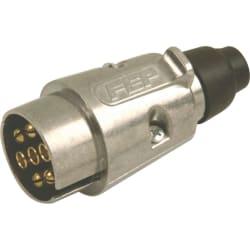 Moto-Quip Metal Trailer Socket 7 Pin Male