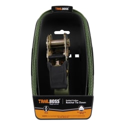 TrailBoss 4M Padded Ratchet Tie Down 1Pack