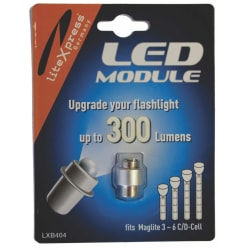 LiteXpress LED Upgrade Module 3 to 6 Cell D/C Cree