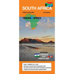 Tracks4Africa South Africa Map 2nd Edition(Incl Swazi & Lesotho)