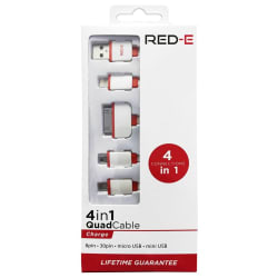RED-E 4-in-1 Multi-function USB charger