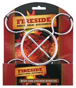 Fireside Beer Can Chicken Roaster