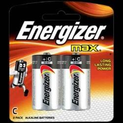 Energizer MAX Alkaline C Card 2