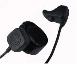 Zartek Earbone Microphone/Speaker with Finger PTT