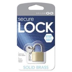 Design Go Brass Padlock