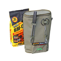 Camp Cover Charcoal Bag