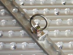 SecureTech Aluminium Cargo Track Single Stud