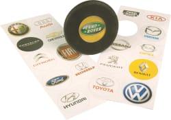 Moto-Quip Various Car Logo License Disc Holders