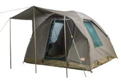 Campmor Tourer 4-person Canvas Dome Tent with Awning