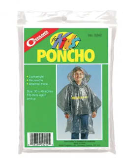 Coghlan's Poncho for Kids