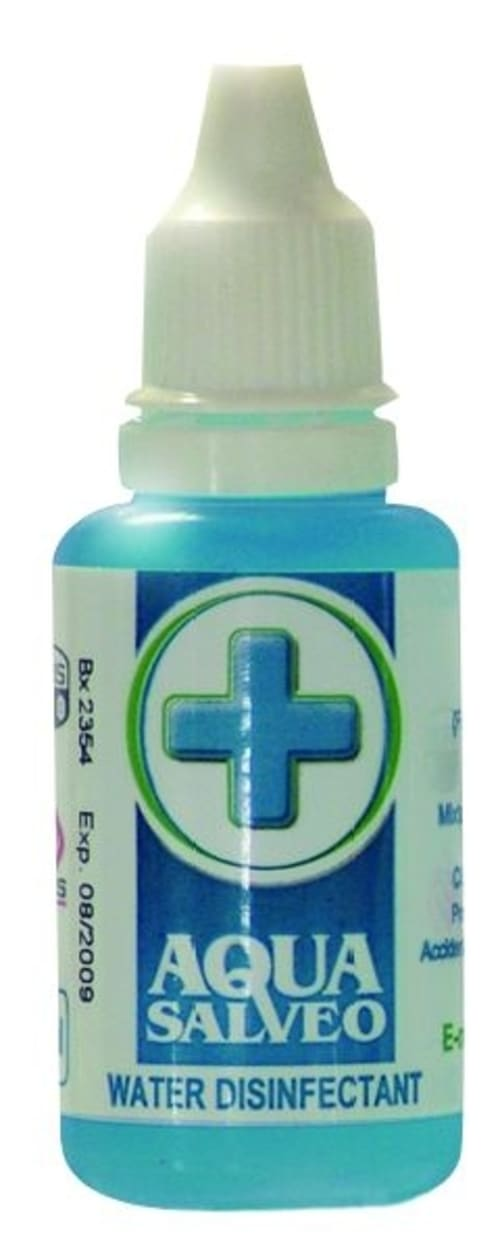 Aqua Salveo Water Disinfectant 30ml Retail Pack