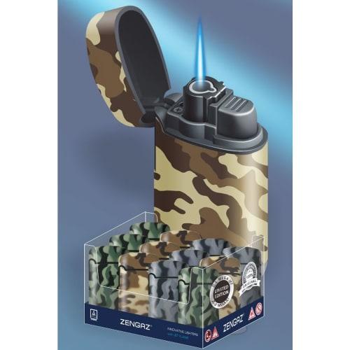 Zenga Flame Jet Gas Lighter