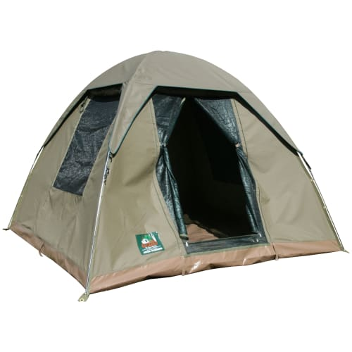 Tentco Senior Wanderer 4- to 5-person Canvas Dome Tent