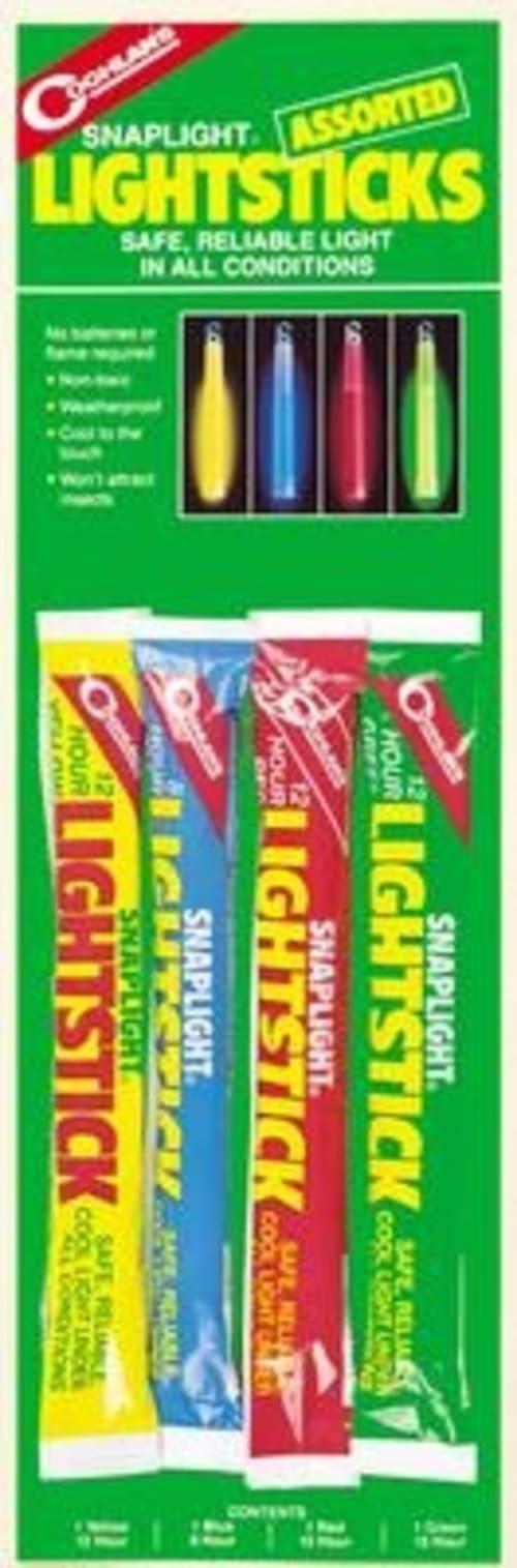 Coghlan's 4-Stick Assorted Lightsticks
