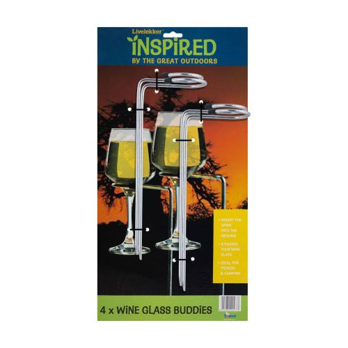 Livelekker Wine Glass Buddies 4Pack
