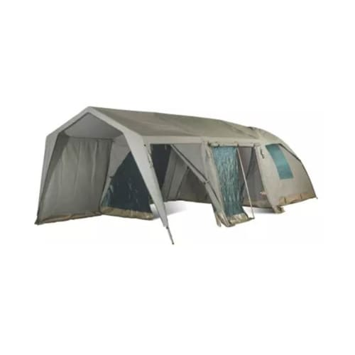 Campmor Safari Senior Bush Combo Canvas 5-person Dome Tent with Large Extension and Verandah