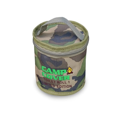 Camp Cover Camo Toilet Roll Holder