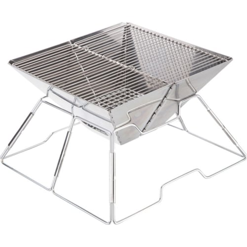 Fireside Stainless Steel Small Folding Braai