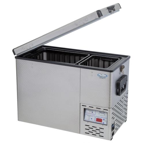 National Luna Legacy NL52 Stainless Steel Fridge/Freezer