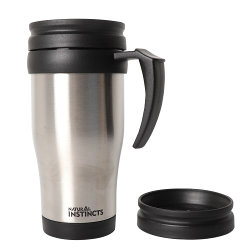 Natural Instincts Stainless Steel Mug 450ml