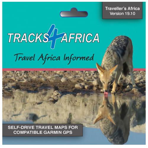 Tracks 4 Africa GPS Map 19.10