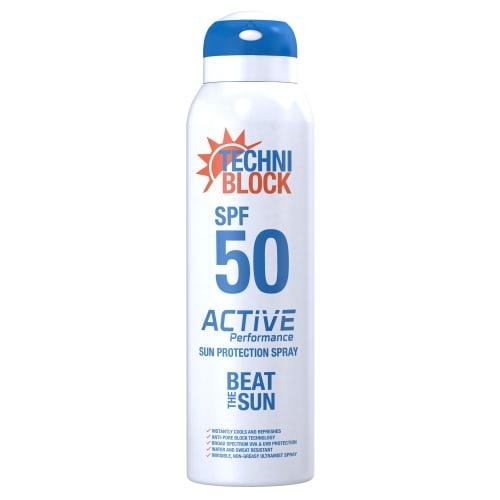 Techniblock SPF50+ Sun Protection Spray